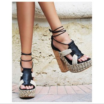 Free People Shoes | Free People | High Society Heel | Color: Black/Cream | Size: 8