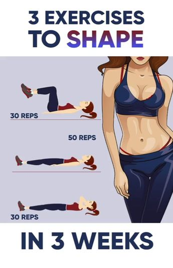 3 Exercises To Shape At Home In 3 Weeks
