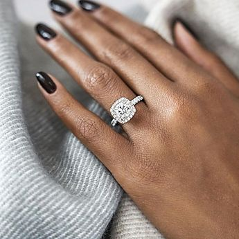 Women's Diamond Cubic Zirconia Solitaire Round Cut Halo Statement Ring Engagement Ring Belle Ring Silver Plated Gold Plated Love Ladies European Bridal Bling Bling everyday Ring Jewelry Gold / Silver