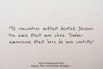 Valentines Quotes : Tomber amoureuse