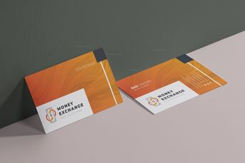 Exchange Visit Card Template 002923 - Template Catalog