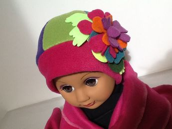 Bonnet Echarpe sur mesure multicolor   Mode filles par creation-valerie- castets bdd7ab057ee