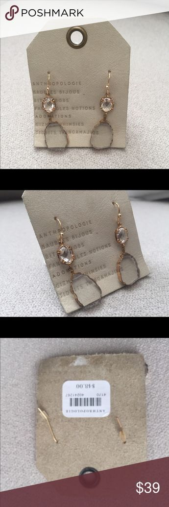 ee3425ad66eb Sea Glass Earrings Iridescent and delicate sea glass earrings with  authentic shore roughened edges and crystal