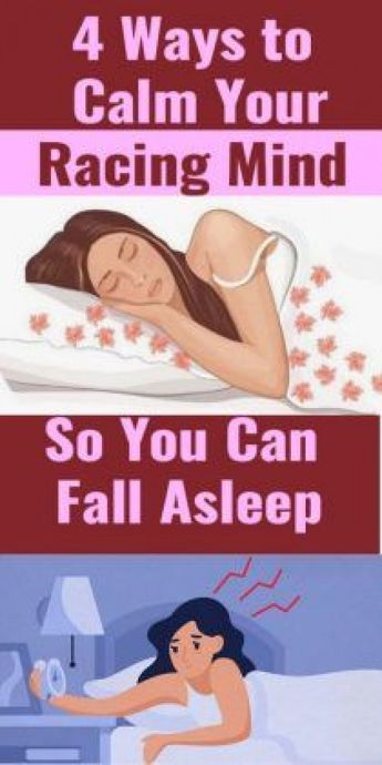 4 Ways to Calm Your Racing Mind So You Can Fall Asleep #bed #bed #quotes