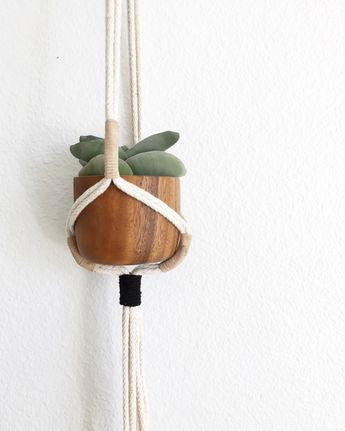 Modern Macrame plant hanger/ Macrame plant hanger/ Macrame hanging/ Plant hanger/ hanging planter/ macrame plant holder/ pot hanger