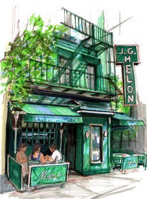 Bar Drawings   Stephen Gardner