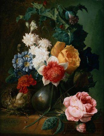 """Натюрморты """"Цветы и фрукты"""".  В поисках вдохновения."""