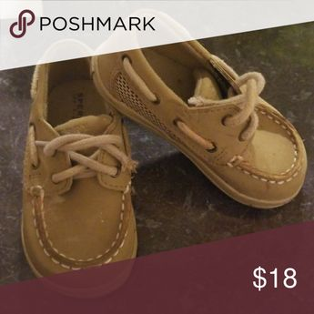 Baby Sperry top-sider In good Condition  Baby Size 4M Sperry Shoes Dress Shoes