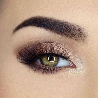 47 Un maquillage pour les yeux sexy cherche des yeux bruns pour donner à vos yeux un air sérieux ... #Wom ...  #bruns #cherche #donner #makeupForBrownEyes #maquillage #serieux