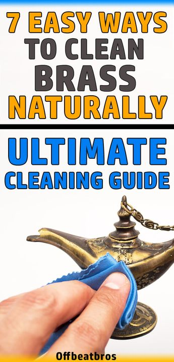 How to Clean Brass Naturally - 7 Easy Ways