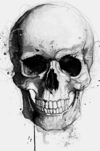 50 Skull Pencil Drawing Ideas  #SkullSketch