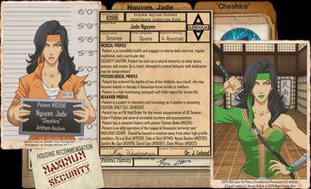 Arkham Files - Cheshire by Roysovitch on DeviantArt