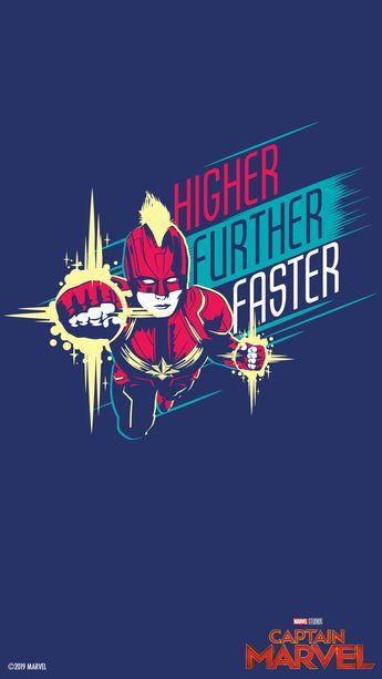 วอลล์เปเปอร์จาก Marvel Studios' Captain Marvel | Disney Thailand