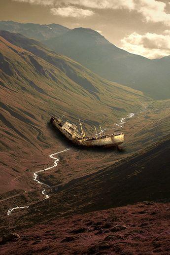 atraversso: - final flood - by Frank Schlamp (via shakespearestwin) Source: atraversso