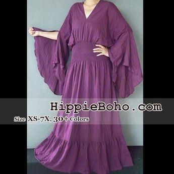 fcf0942ef41 No.302 - Size XS-7X Purple Curvy Plus Size Renaissance Pagan Hippie Boho