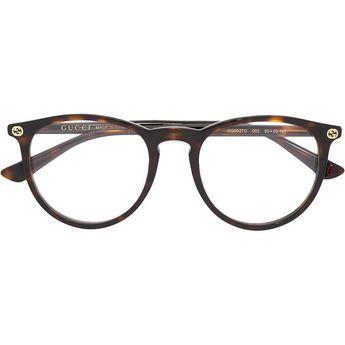 d4f2b643f10 Gucci Eyewear - tortoiseshell glasses - women - Acetate - 50 (710 BRL) ❤