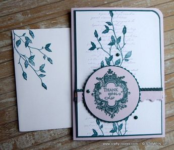Very Versailles for the Stamp n Hop Sketch Challenge - Crafty-rootes