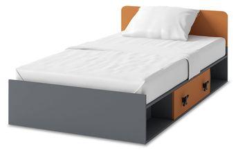 łóżko Dwuosobowe Wysuwane Jednopoziomowe Piętrus łóżko D