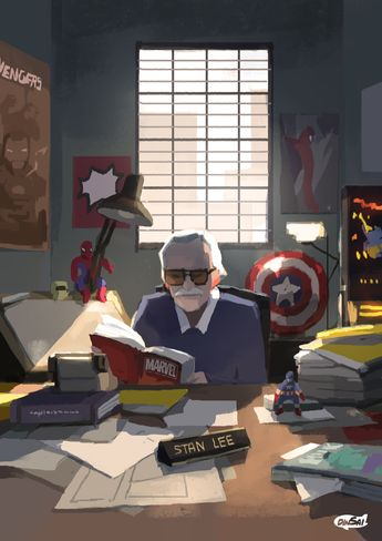 The Legend of marvel : stan lee