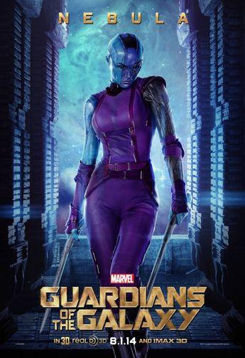 guardians-of-the-galaxy (2014) – nebula (Karen Gillan)
