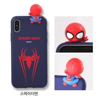 Marvel Superhero Cute iPhone Case Type B