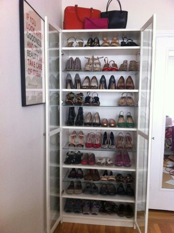 lucky kate: A Thing of Beauty  aka the best shoe storage EVER