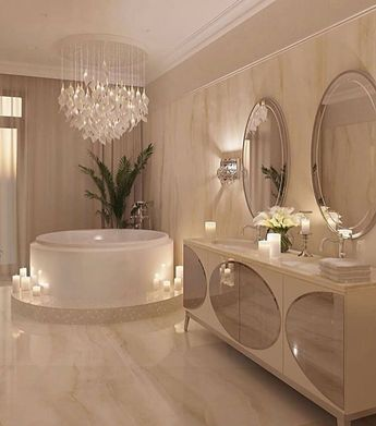Nothing better than a bathroom like that! Beautiful, sophisticated and cozy #casacria ...-#bathroom #casacriative