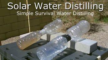 DIY Solar Water Distiller! - Simple Solar Water Distilling - Easy DIY (for Survival/SHTF)
