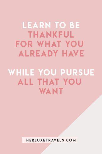Five easy ways to practice gratitude | Her Luxe Travels
