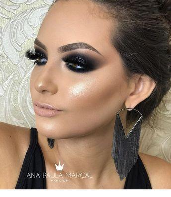 Amazing eye makeup. I'll try this next week. | Inspiration for Ladies #EyeLashesHowToApply