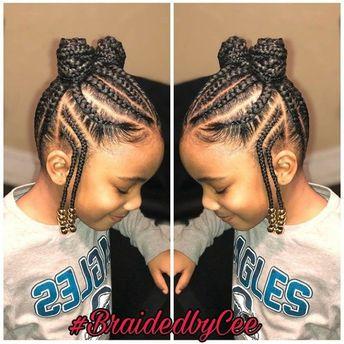 Photos : 15 coiffures de petite fille pour cheveux crépus