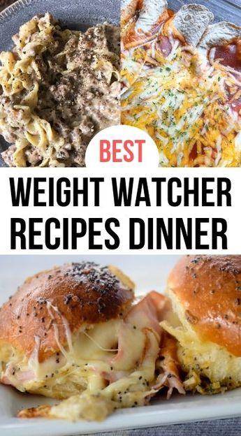 Weight Watcher Recipes Dinner