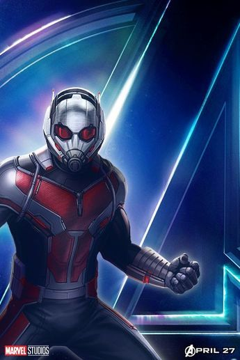 Filling the Avengers: Infinity War Space with Ant-Man Poster! ,  #AntMan #avengers #filling #infinity #poster #space #War