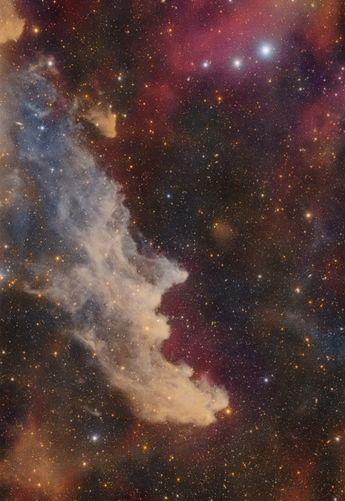 Witch Head Nebula from La Hacienda Los Andes, Chile