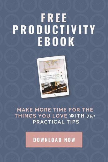 Here's a NEW and FREE ebook for ya! I'll have more productivity info next week.