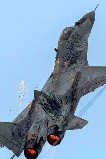 Mikoyan-Gurevich MiG-29 Fulcrum. #aircraft #jet #aircraft