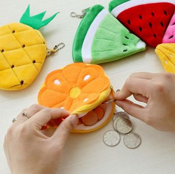 Fruity Coin Bags