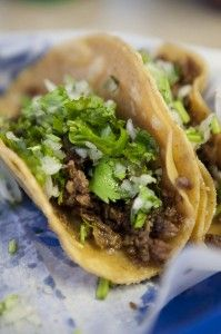 So-Cal Street Tacos - Street tacos (like the ones crafted out front of the Staples Center in Los Angeles) are made from simple fresh ingredients. Print SoCal Street Tacos Recipe