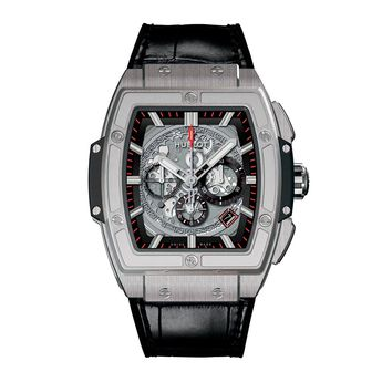 Hublot Spirit of Big Bang Titanium Alligator Leather Men's Watch