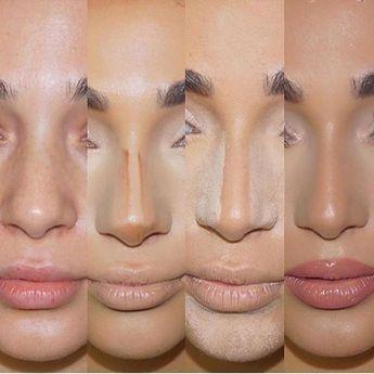 Best Ideas For Makeup Tutorials : Nose contouring Follow @trillionbabes for more