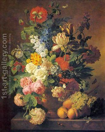 Jan Frans Van Dael:Flower Still-Life 1811