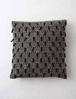 Shaggy Dog Cushion - Monochrome - VI