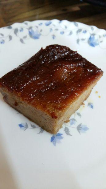 Caramel Coffee Bread Pudding