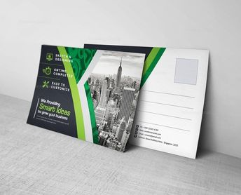 Postcard Template - Graphic Templates