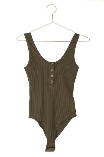 Henley Tank Bodysuit