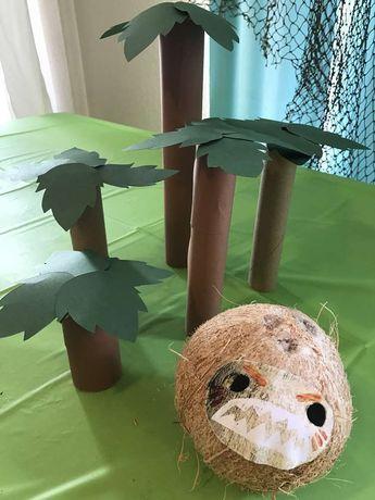 Kakamora Bowling - Kenzie's Moana Birthday - Moana Birthday Party Ideas | CatchMyParty.com
