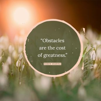 """InboxDollars on Instagram: """"""""Obstacles are the cost of greatness."""" - Robin Sharma #motivationalmondays"""""""