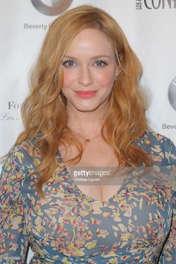 Actress Christina Hendricks attends Los Angeles Confidential Women Of...