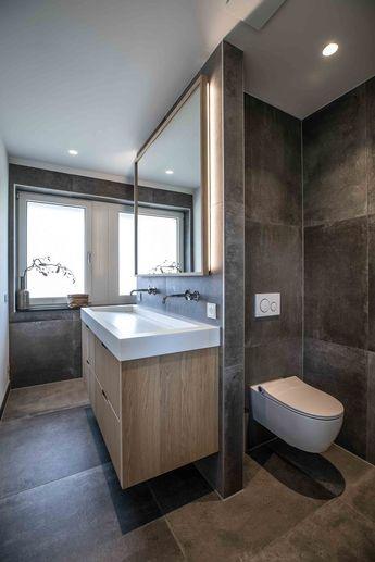 Über 20 Designideen für kleine Badezimmer (die perfekt und fantastisch aussehen) - Haus ideen