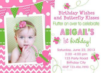 Girl Birthday Invitation And Free Thank You Card Printable